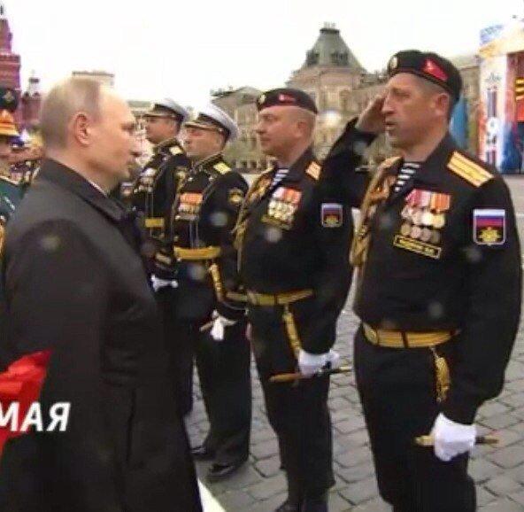 Путин и Валерий Федянин