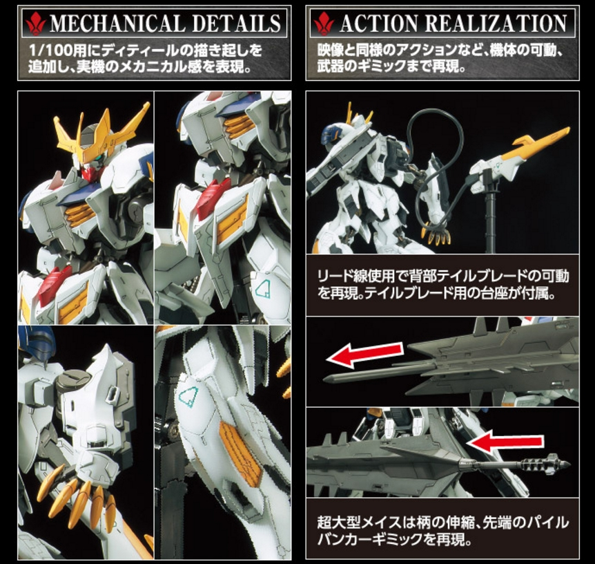 1/100 Full Mechanics Gundam Barbatos Lupus Rex - Release Info
