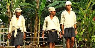 Pakaian Pria Baduy Dalam