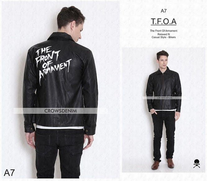 limited shoping jaket kulit crows zero tfoa generation 5th a7_2