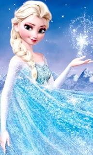 Imagen de reina Ana de la película Frozen a color