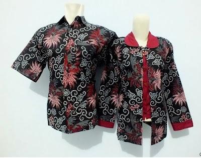Model Baju Batik Kerja Guru Terbaru