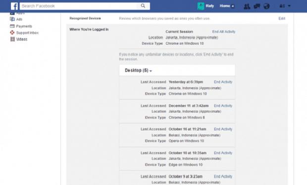 Tahukah Kamu ? Tanda Jika Akun Facebook Kamu Di-hack Orang dan Cara Mengatasinya
