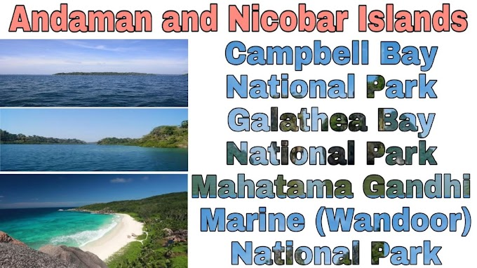 List of National Parks in Andaman and Nicobar Islands