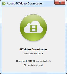 4k Video Downloader 4.0 + Crack โปรแกรมช่วยดาวน์โหลดวิดีโอ Youtube คุณภาพสูง[One2up]