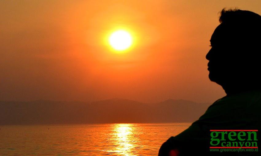 Sunrise Pantai Pangandaran