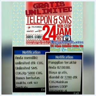 SMS Gratis Telkomsel Armaila