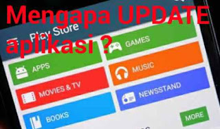update aplikasi