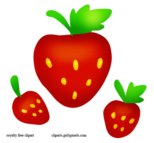 clipart picture of a strawberry - photo #26