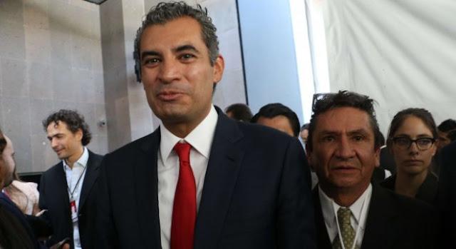 """Otra vez el mesias de  AMLO quiere usar los fondos de Morena de forma clientelar con los damnificados"""": Enrique Ochoa"""