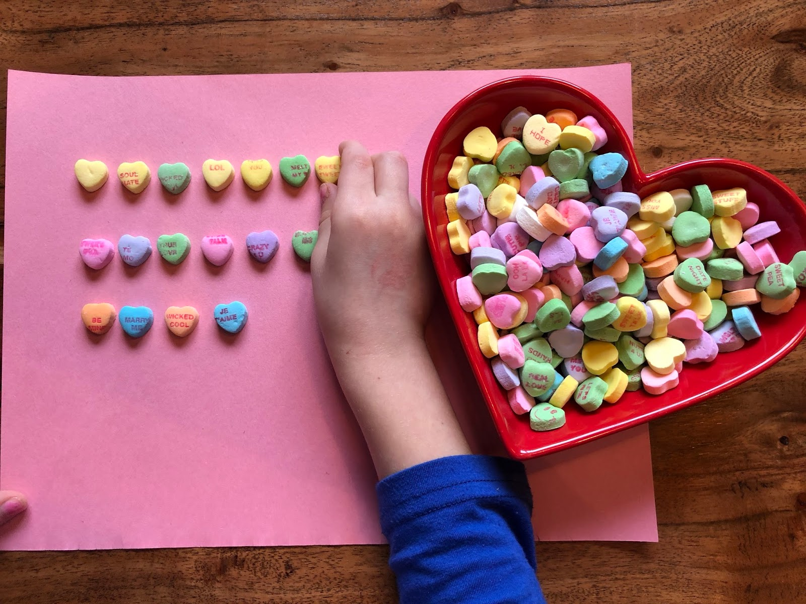 Candy Heart Numbers And Math Activities Tidbits And Tutus