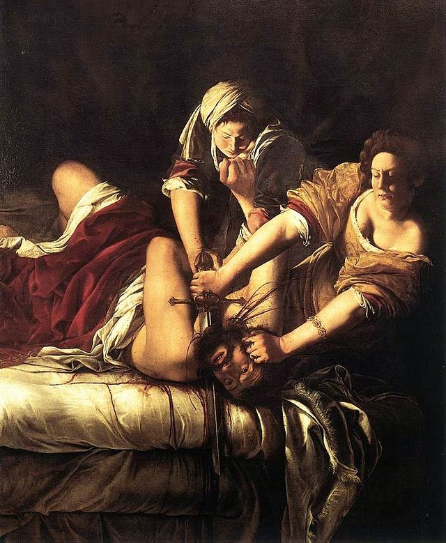 A famosa Judite, de Artemisia Gentileschi, tours em português em Roma
