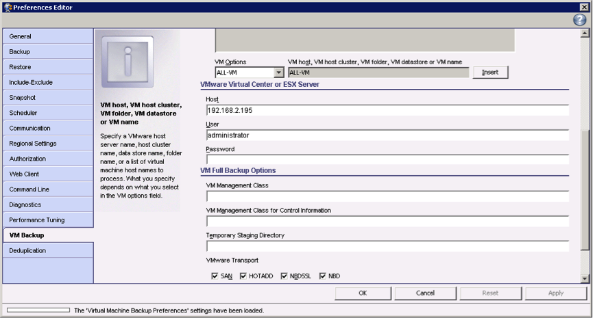 How to Configure Tivoli Storage Manager for Virtual