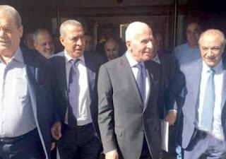 وفد حركة فتح يُسلّم رئيس جهاز المخابرات المصرية موقف القيادة بشأن المصالحة