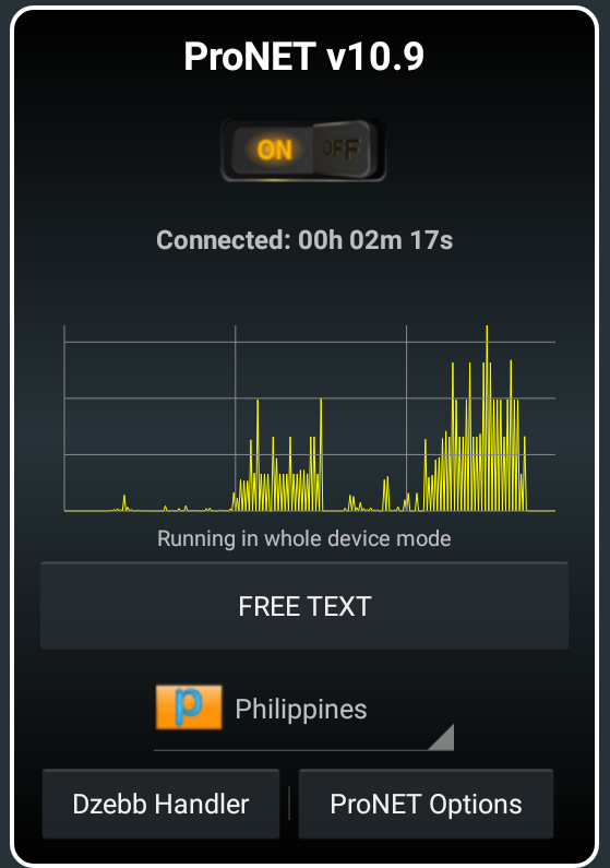 Download All ProNET VPN V10 XX Versions APK File for Android
