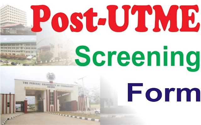 post-utme screening 2018/2019