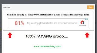 Iklan Google Adsense di Fanspage Facebook Sudah Muncul