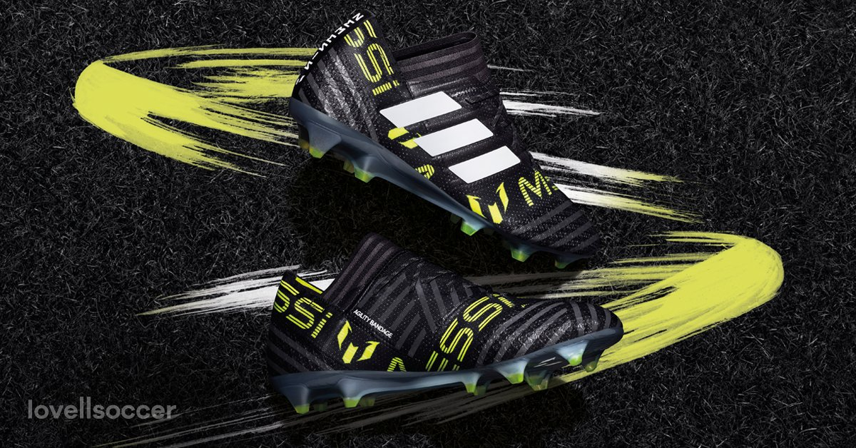 00309bd8d59b Laceless Adidas Nemeziz Messi 17+ 360Agility Dust Storm Boots Released