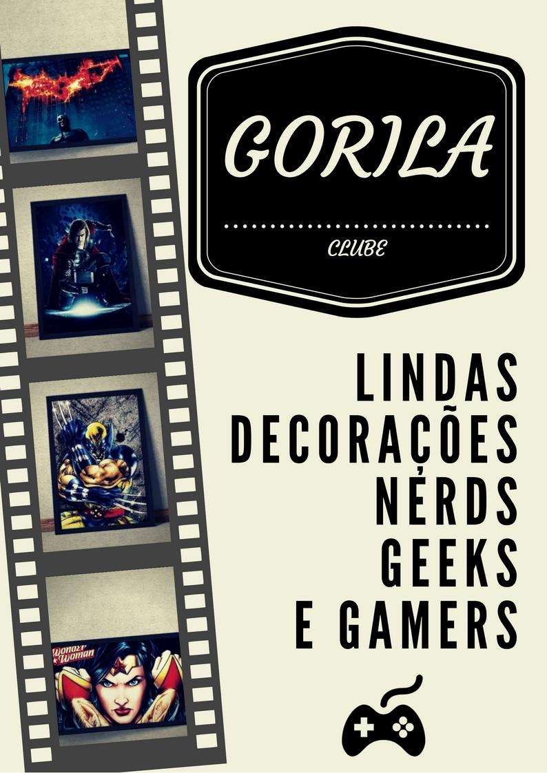 Loja de itens nerds gamers geeks