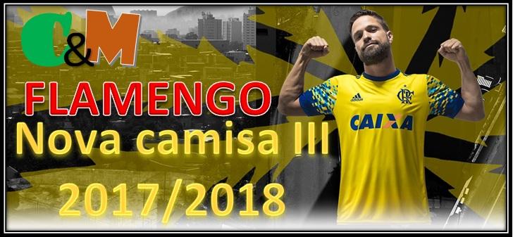a012fcc094 Camisas e Manias  Flamengo   Adidas - Camisa III - 17 18