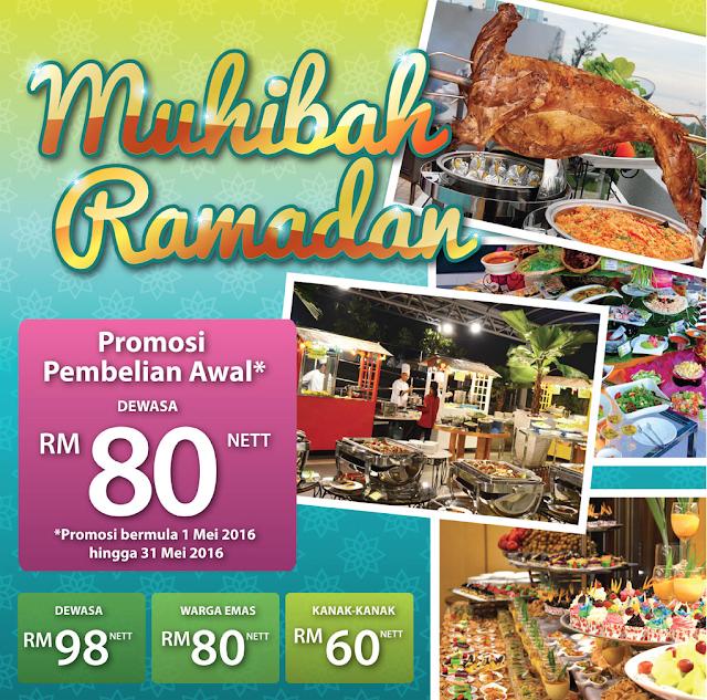 Buffet Ramadhan 2016 Grand Bluewave Hotel
