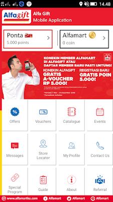 cara mendapatkan kartu member alfamart dari Hp Android