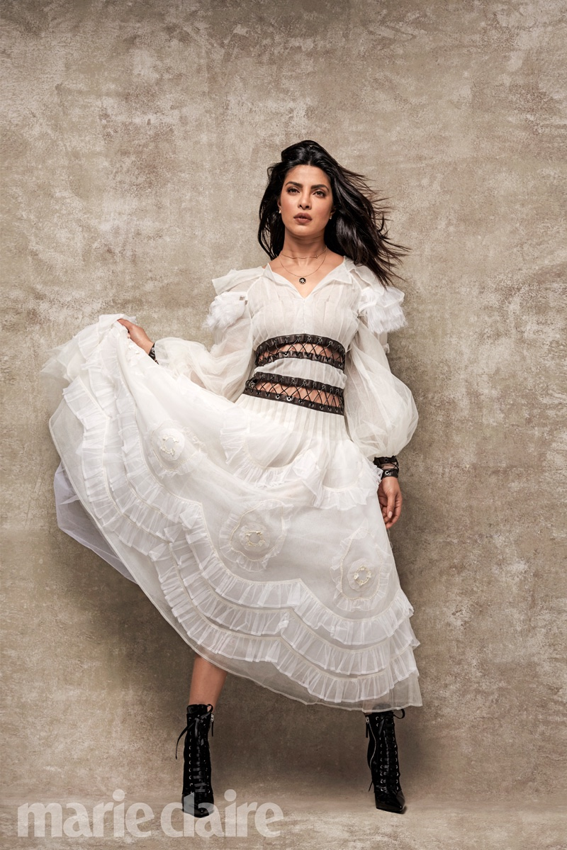 Priyanka Chopra stars in Marie Claire US September 2016