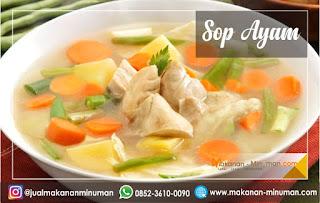 resep sop yang enak dan mudah dibuat, resep sop ayam