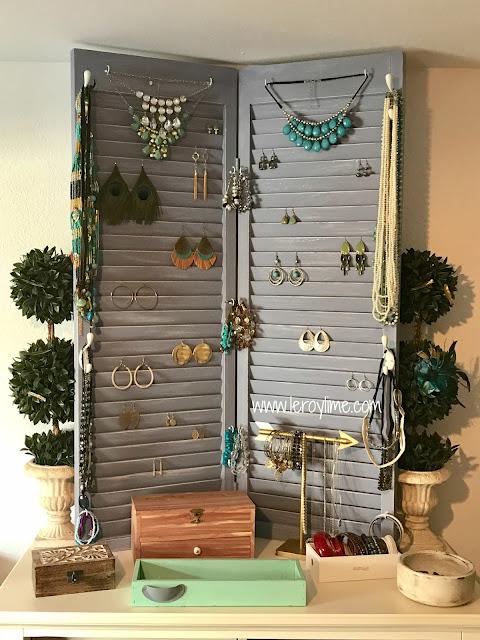 DIY Jewelry Holder - Upcycled - LeroyLime