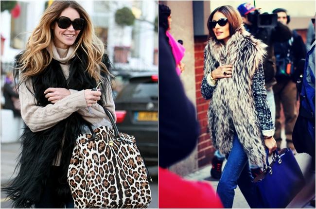 faux fur vest celebrity trend
