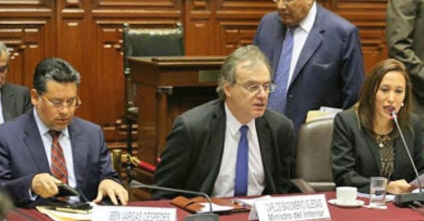 MININTER: Ministro del Interior niega haber llamado terroristas a maestros - www.mininter.gob.pe