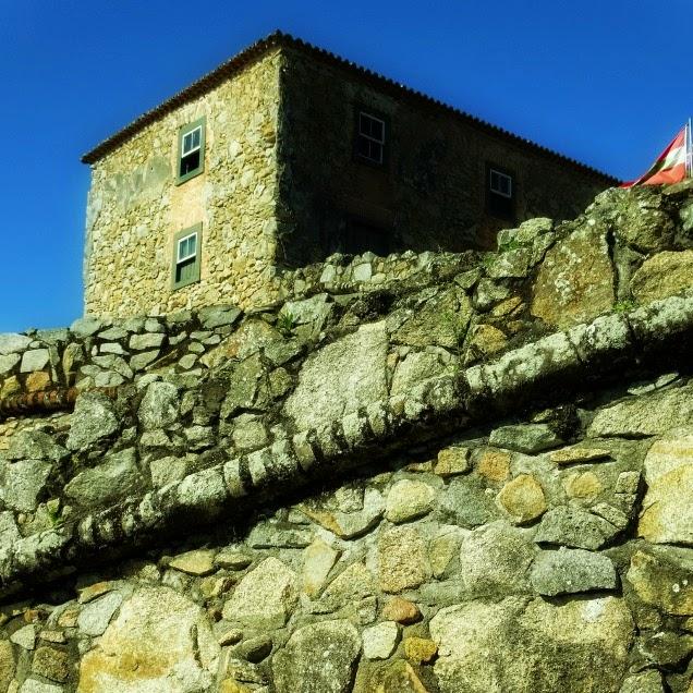 Casa do Comandante vista de fora da Fortaleza, Florianópolis
