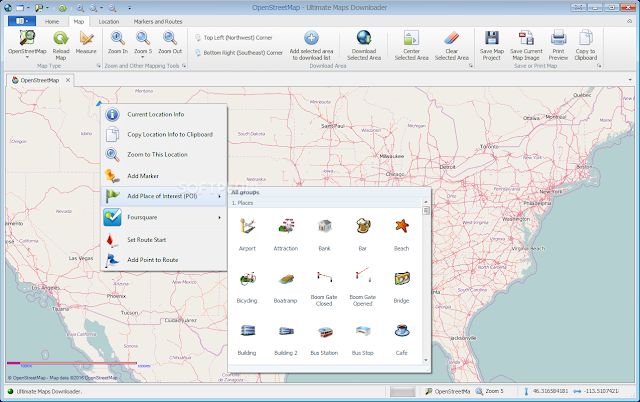 تحميل برنامج تنزيل الخرائط للكمبيوتر Ultimate Maps Downloader