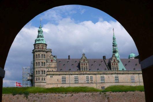 16th Century Kronborg Castle in Helsingor, Denmark