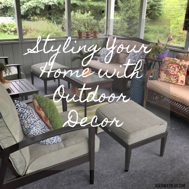 Styling Your Home with Outdoor Decor