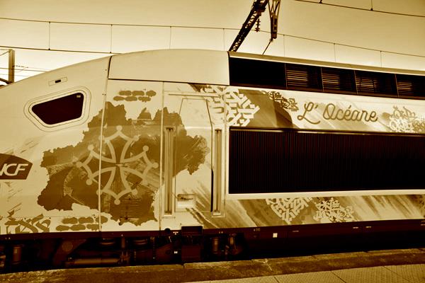 TGV Montpellier