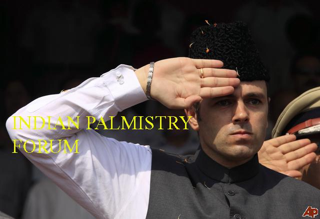 Omar Abdullah Hand Reading