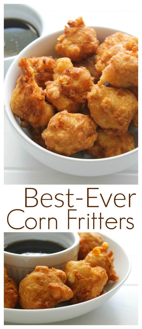 Best-Ever Corn Fritters Recipe