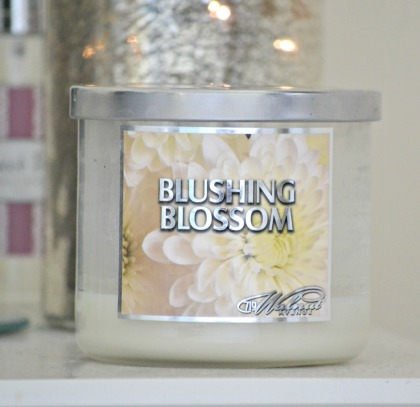 Blushing Blossom Candle monthly fave