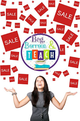 Beg, Borrow, and Teach! beginning-of-year sale on TpT.