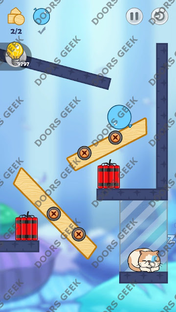 Hello Cats Level 135 Solution, Cheats, Walkthrough 3 Stars for Android and iOS
