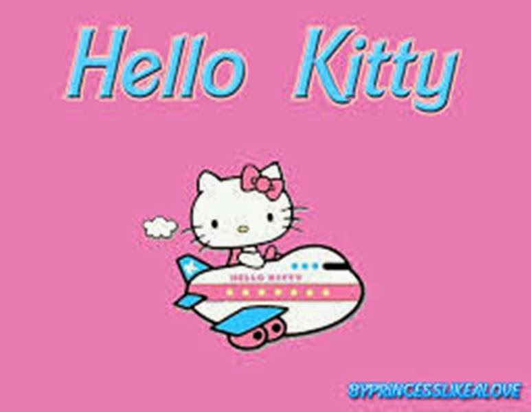 Wallpaper gambar hello kitty pink gratis download
