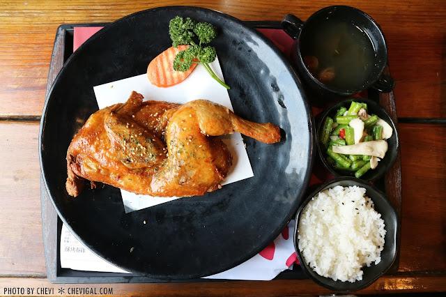 IMG 8147 - 台中潭子│東喜堂花園茶館*離市區最近的美食桃源。首推德國豬腳與酥烤春雞
