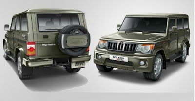 Mahindra Bolero Power Plus front & rear looks