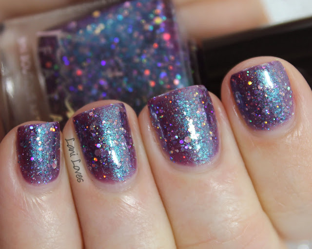 Femme Fatale Cosmetics Moonlight Statues nail polish swatches & review