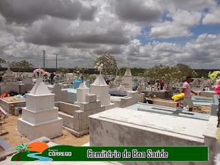 NOSSA HISTÓRIA - O cemitério