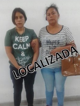Localizan sana y salva a jovencita Maira Irazema Rodríguez González