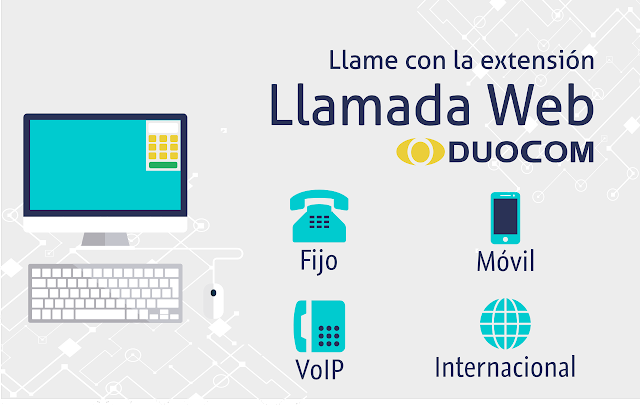 extension llamada web