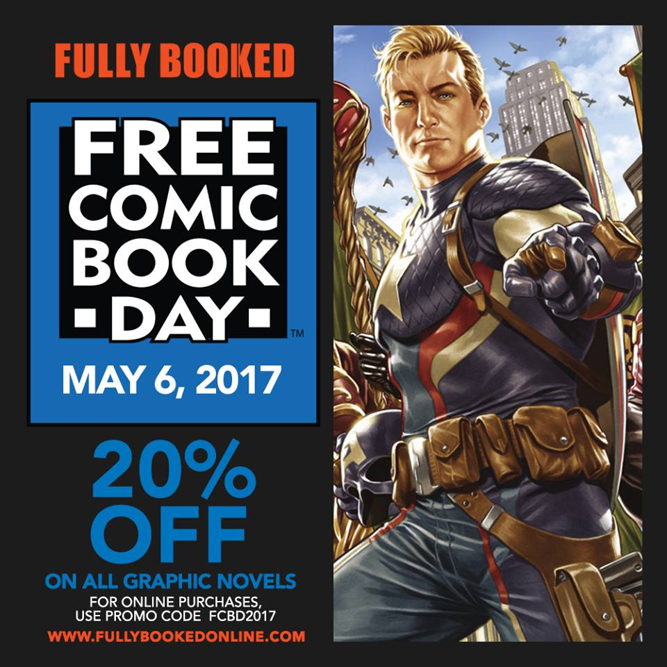 Manila Shopper: Fully Booked FREE Comic Book Day & SALE