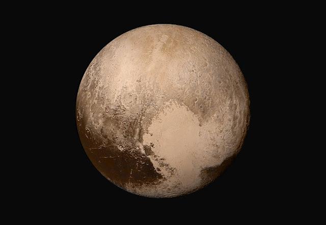 gambar pluto - planet kerdil di tata surya